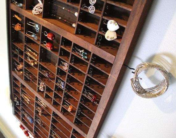 Wooden Jewelry Organizer