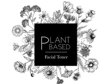 Plant Based Facial Toner for oily skin