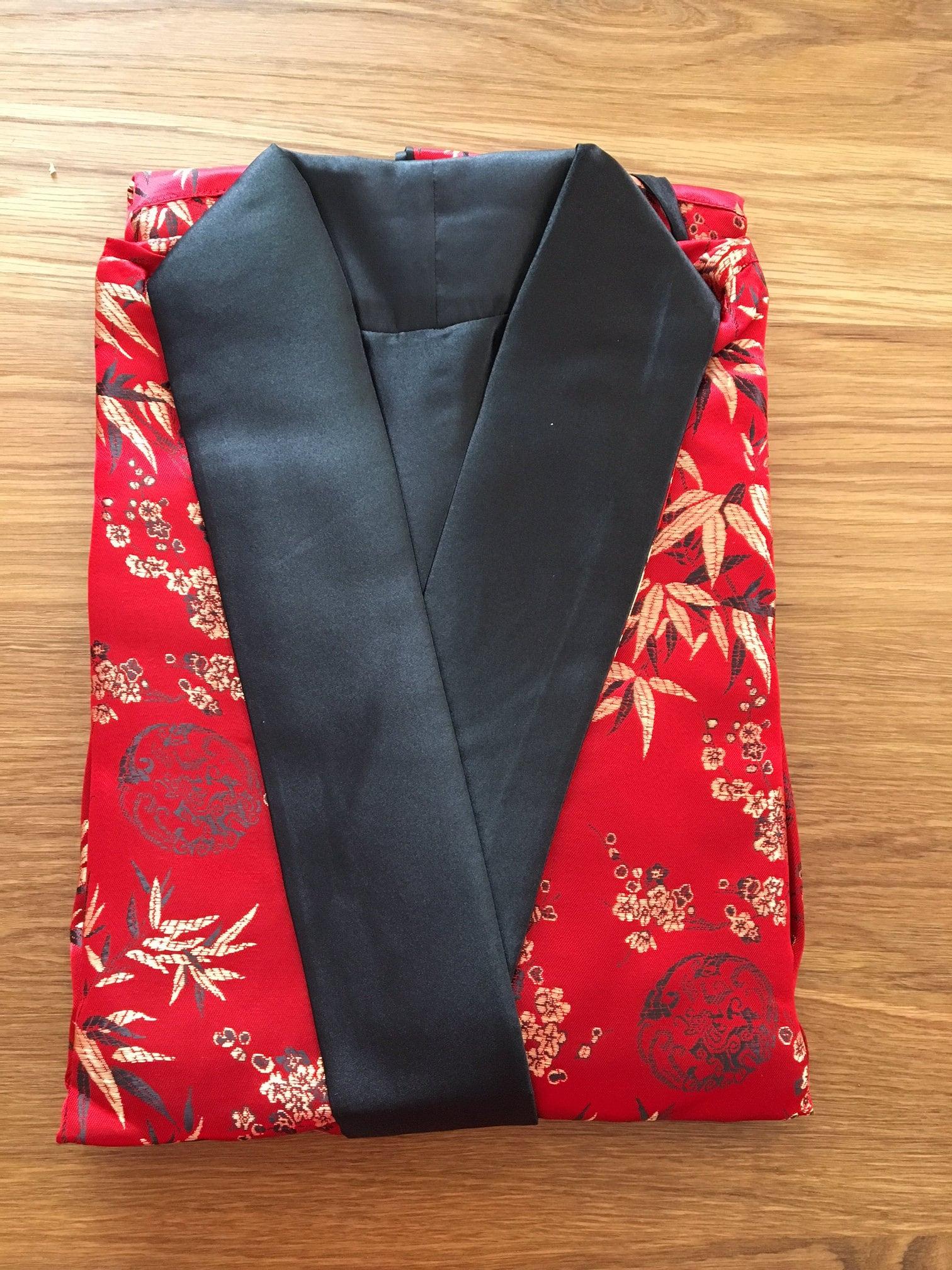 30% off SILK EMBROIDERY Men Dressing Gown, Kimono, Night Dress ...