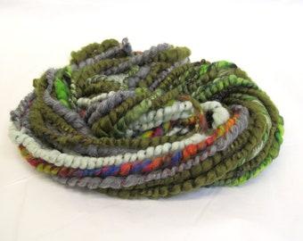 Art Yarn Handspun Dyed Merino Wool Corespun 44g