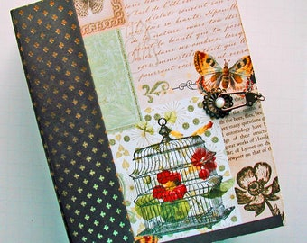Butterfly Theme, Scrapbook Album, Mini Album, Photo Album, Handmade, Mariposa