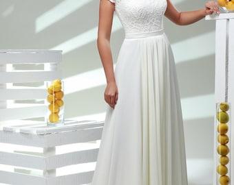 Wedding and evening dress