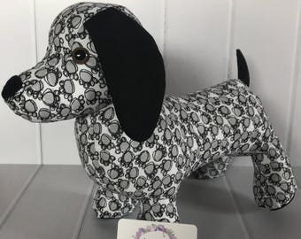 Dixie the Dachshund - Ready To Send - Year of the Dog