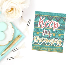 Keep On Dreaming Planner Dashboard