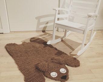 Bear rug crochet pattern