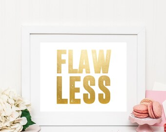 Flawless | Beyonce | Downloadable Print | Instant Download | Gallery Wall | Printable