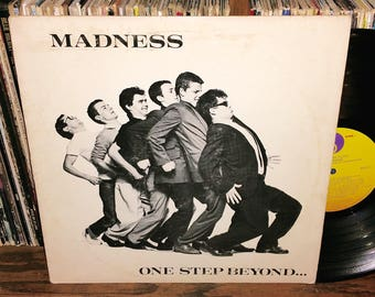 Madness One Step Beyond Vintage Vinyl Record