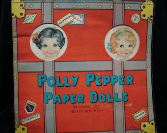 Original 1936 Polly Pepper Paper Dolls