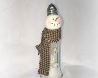 Salt Shaker Snowman