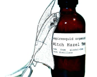 Witch Hazel Toner | Alcohol Free Witch Hazel Hydrosol | Natural Face Toner | Skin Toner | Witch Hazel Facial Toner