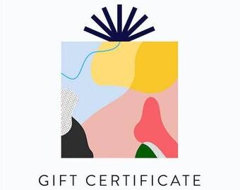 Gift Certificate- One Hundred  Dollar Value
