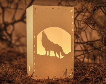 Paper lantern | The WOLF & The MOON