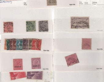 BTS Variety 36 PERFORATION Stamps