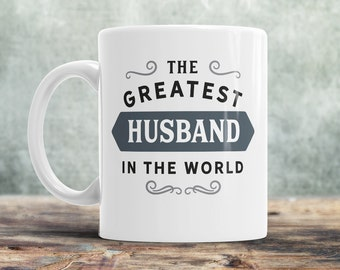 Present for husband etsy husband gift greatest husband husband mug birthday gift for husband husband negle Image collections
