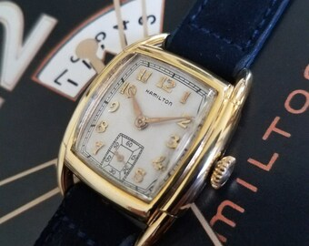 Vintage 1950 Mans Hamilton DEWITT Fully Serviced Ready To Wear