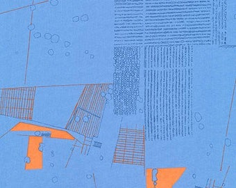 Friedlander - Aerial Blue Jay - Carolyn Friedlander - Robert Kaufman (AFR-16605-82)
