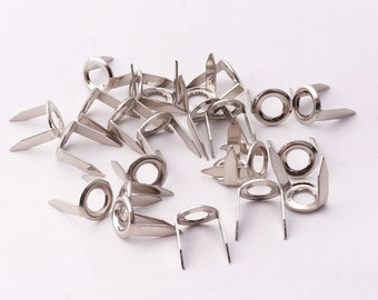 30pcs 7mm(w) Rivets Nailhead Studs Spikes Nailheads with 2 Claws Rivet Nailheads Spikes for for DIY bag shoes DIY decorations finding