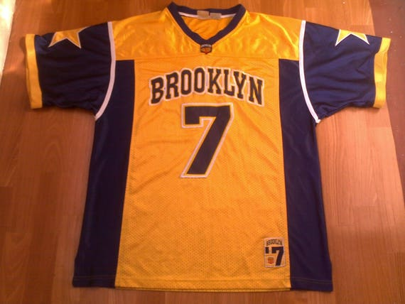 a2387c0c Brooklyn jersey vintage New York t-shirt basketball shirt of