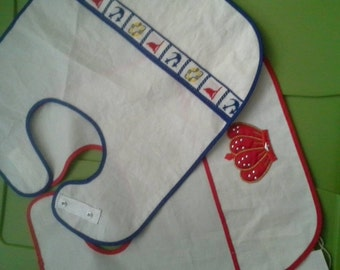 Recycled Sail Bib, Toddler