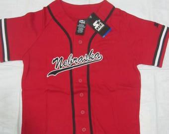 Vintage Starter College Football NCAA Baseball Jersey (Size : L)