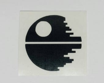 Star Wars Death Star Vinyl Decal