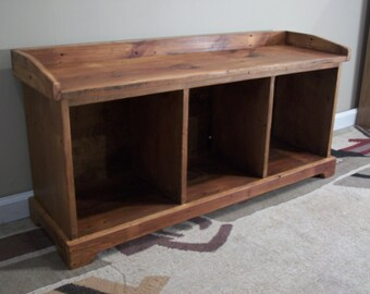 Reclaimed wood - Entryway Bench [TC45]