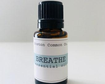 Breathe essential oil blend / breathe easy / breathe restoative blend / pure easential oil blend 15 ml