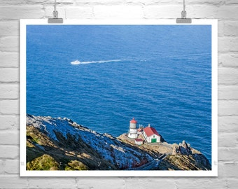 Point Reyes Picture, California Coast, Marin County Art, Picture of Pt Reyes, Lighthouse Picture, Pt Reyes Art, Nautical Art, Gift Picture