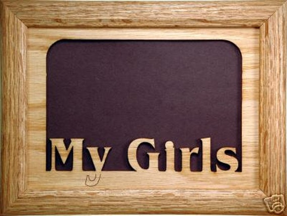 My Girls Picture Frame My Girls Photo Frame Daughters