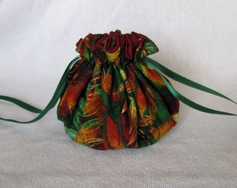Jewelry Bag - Medium Size - Travel Jewelry Pouch - Jewelry Tote - Drawstring Pouch - CALYPSO