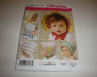 Simplicity Pattern 2908 Baby and Toddlers 3 sizes                          Item 2908