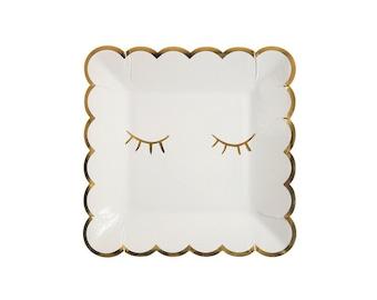 Blink Square Paper Plate, Tableware, Partyware, Party Supplies, Meri Meri