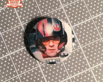 "Poe (1"" button)"