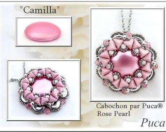 PATTERN offered by Puca Camilla pendant tutorial