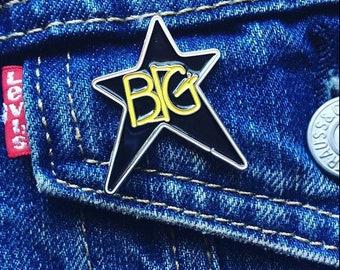 Big Star #1 Record soft enamel pin