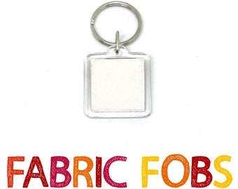 Natalie Wood Personal Wardrobe Relic Keychain - Fabric Fobs - Worn by Wood!