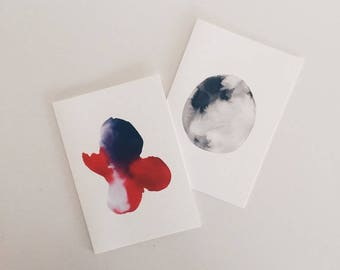 Watercolour Gift Cards