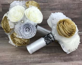 Wedding party bouquet package