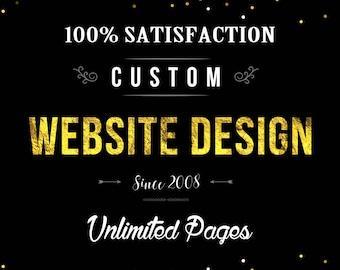 Custom website, blogger theme, wordpress blog theme, website design