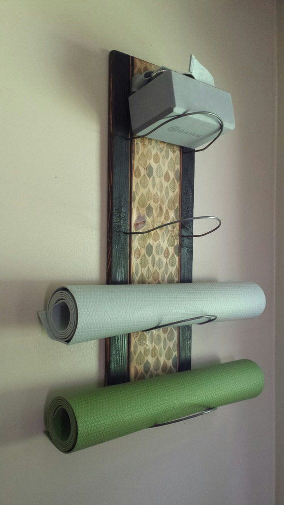 4 Tier Yoga Mat Holder wall mounted yoga supplies yoga