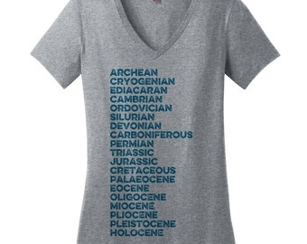 T Shirts for Women Science Tshirts for Women Nerdy Plus Size Clothing Jurassic Shirt Science Teacher Gifts for Her Gifts for Sister Gifts