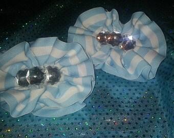 Ruffle Bow Set