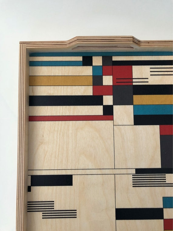 Large Wood Tray | Bauhaus