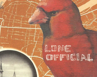 "Lone Official - ""Aught Years"" 3x7"" 