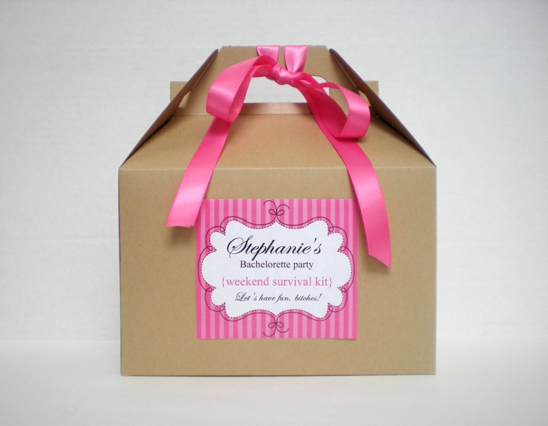Bachelorette Survival Kit / Bachelorette party favor / Bridal