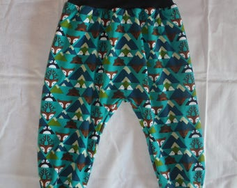 Bloomers, wax trousers, Chillhose, slip trousers, Jersey, trousers, Gr. 86/92