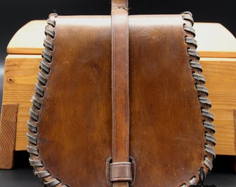 Medieval pouch, leather bag