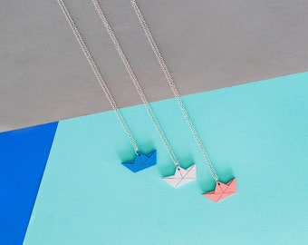 SPECIAL EDITION -  paper boat necklace
