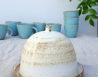 Butter Dish, Pottery Butter Dish, Ceramic Butter Dish, Butter Dish With Lid, Lidded Butter Dish, Unique Butter Dish, Serving Platter, Rustic