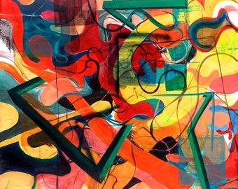 Swoopy- Art Print